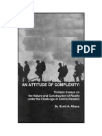 1. An Attitude of Complexity, May 23, 2015