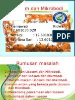Lisosom Dan Mikrobodi(Ppt)