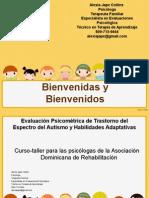 DSM V y Trastorno del Espectro del Autismo