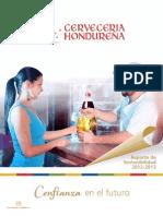 Cerveceria Hondurena Reporte de Sostenibilidad 2013