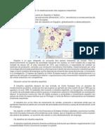 XEOGRAFÍA DE ESPAÑA 2bac Teoría TEMA 8 a Reestruturación Dos Espazos Industriais.