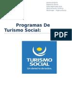 Programas de Turismo Social