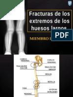 Fractura de Las Epifisis de Los Huesos Largos