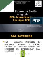 PPL- Manutenção e Serviços LTDA