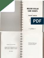 Frank Garcia Million Dollar Cards Secrets