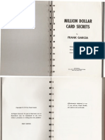 Frank Garcia Million Dollar Cards Secrets
