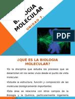 UNIDAD 7. BIOLOGIA MOLECULAR.pptx