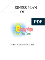 Business Plan (Baby Care Center)