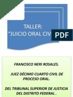 Clase Juicio Oral Civil - Mayo 2015