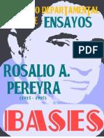 Bases Concurso Rosalío A. Pereyra