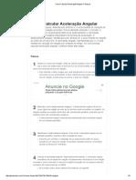 Como Calcular Aceleração Angular_ 5 Passos