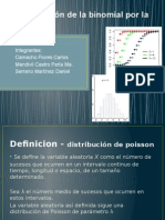 Aproximación de La Binomial Por La de Poisson