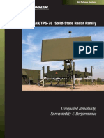 Radar 3D AN/TPS78 Solid State Family