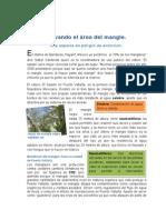 Salvando El Área Del Mangle Fernanda y Deyanira