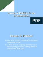 Power & Politics in an Organisation