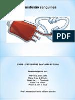 Transfução Sanguinea