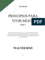 PrincipiosParaVivirMejor ParteI Walter Riso