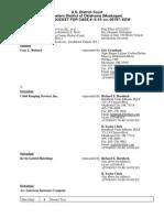 RICHARD v. CUDD PUMPING SERVICES, INC., et al docket