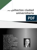 Arquitectos Ciudad Universitaria