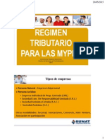 Regimen Tributario Para Mypes Peru
