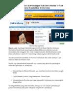 Al-Ihsan Akan Gelar Aksi Gabungan Mahasiswa Se-Aceh Tuntut Kembalikan Media Islam