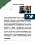 La Complejidad y La Empresa - Edgar Morin