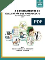 Instrumentos de Evalucion