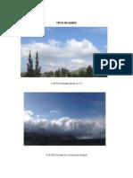 clasificacion de nubes