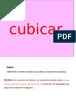 Cubicacion STD