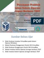 Persiapan Praktek Install OS Text