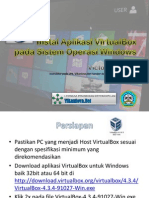 Instalasi Aplikasi VirtualBox Pada Sistem Operasi Windows