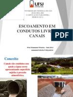 Aula 03-Condutos Livres Canais 2015 I