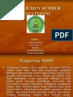 presentasi MSDI