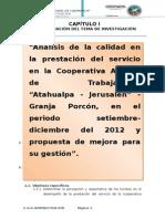 Administración Turística-Granja Porcón
