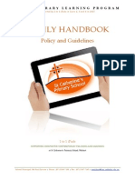 1 to 1 Parent Handbook 2015 - Policy and Guidelines