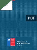 Politica Libro Lectura 2015 2020