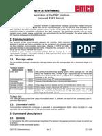 Description of the DNC Interface ASCII Mode