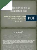 Las Lecciones de La Invasión a Irak