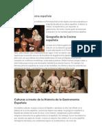 Historia de La Cocina Espanola