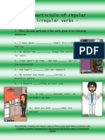 Past Participle of Regular and Irregular Verbs