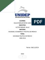 Ensayo Politica de Mexico