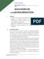 7mo Informe Reaccionesdereduccionoxidacion[1]