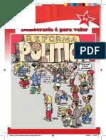 Cartilha sobre reforma política incentiva a participação popular