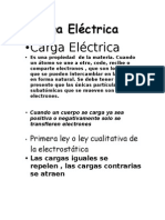 Carga Eléctrica