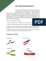 Amarres y Derivaciones Eléctricas