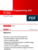 PLSQL s13 l01 Introduction to Triggers