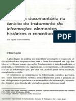 A Analise Documentária No Ambito Do Tratamento Da Informação- José Agusto Guimarães