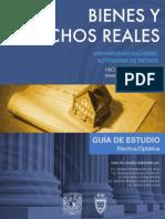 Bienes Derechos Reales 3 Semestre UNAM SUA Facultad de Derecho Actividades de Aprendizaje