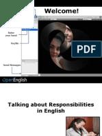 Responsibilities (#0630)