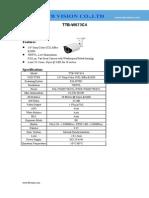 CCD 700TVL Effio-E OSD Metal Vari-focal Weatherproof analog camera with 50M IR distance TTB-W673C4 www.ttbvs.com-(Vari Focal)TTB W673C4 Specification